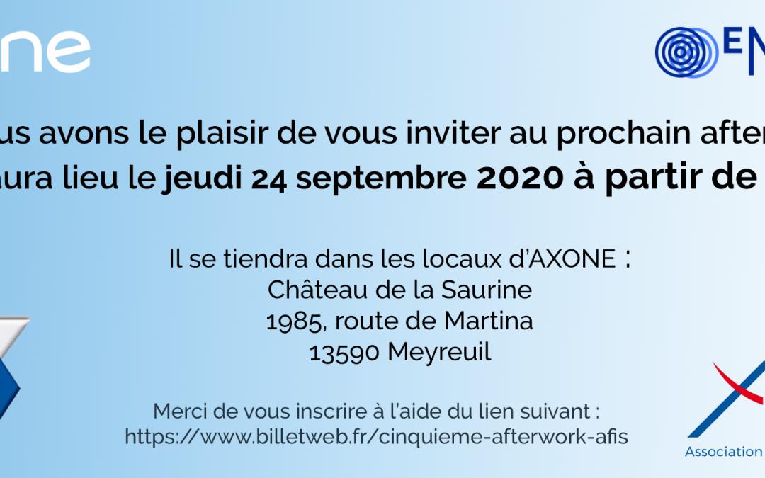 24/09/2020 : Afterwork AFAV AFIS